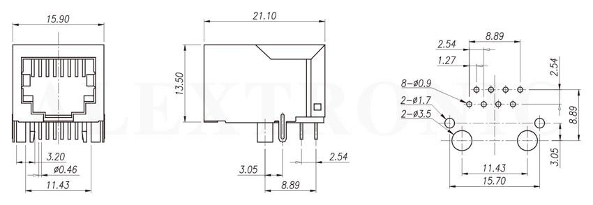 modular jack - alextronic