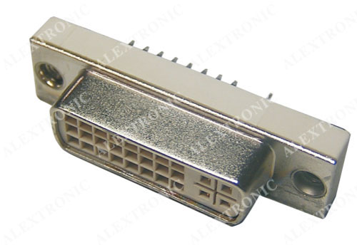 Dvi Socket Alextronic Professional In Metal Amp Plastic